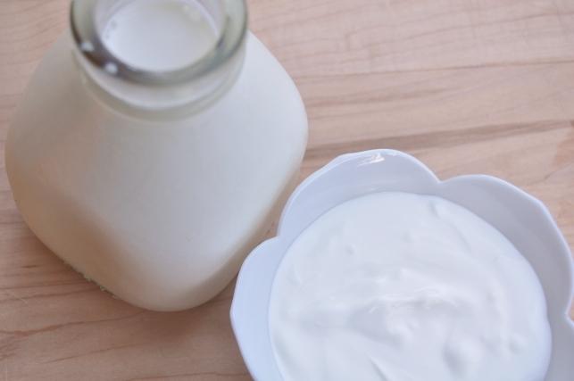cream and sour cream