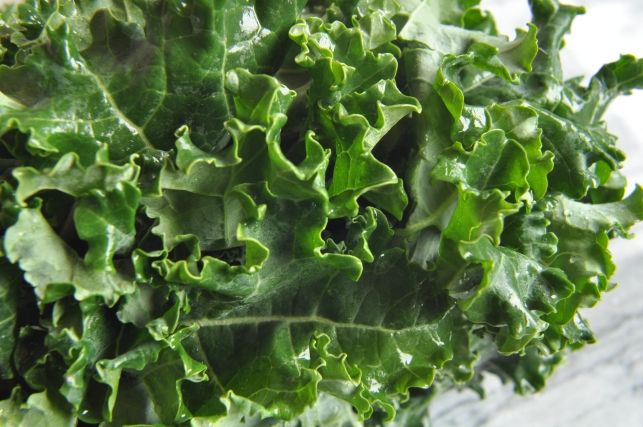 Kale With Seaweed, Sesame And Ginger Recipe — Dishmaps