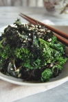 kale with seaweed and sesame II