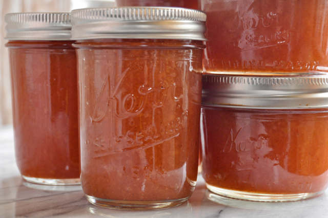 canned quince jam