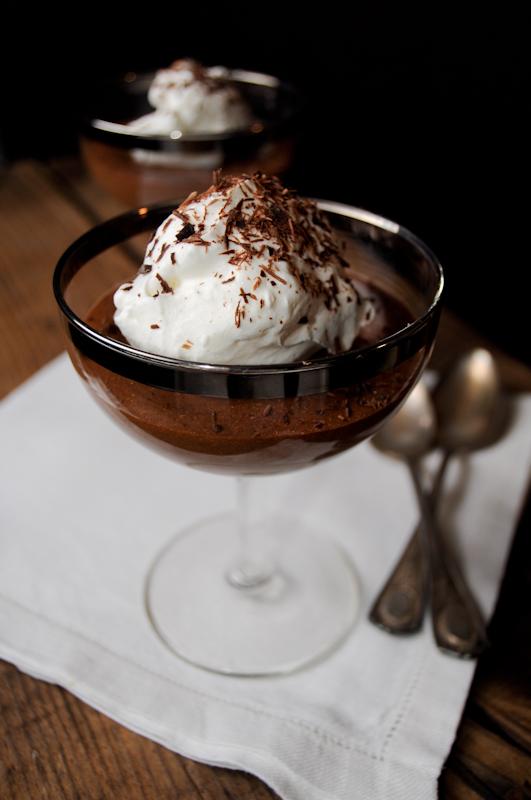 top-secret chocolate mousse | fancyfoodfancy