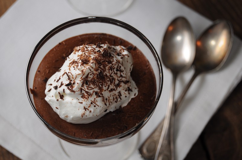 top-secret chocolate mousse | fancyfoodfancy