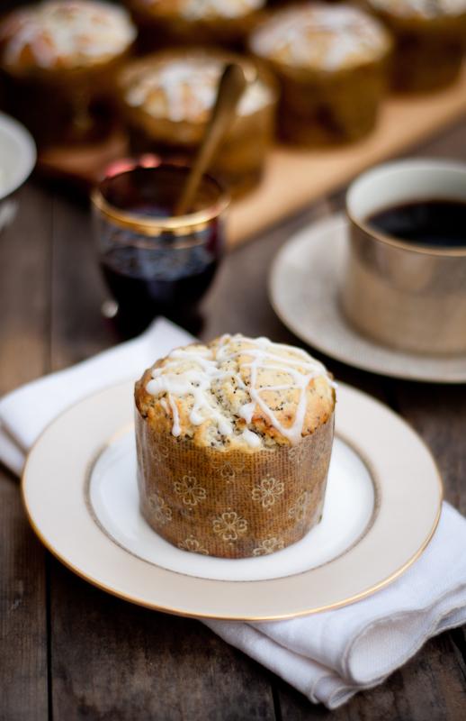 lemon poppy seed muffins | fancyfoodfancy